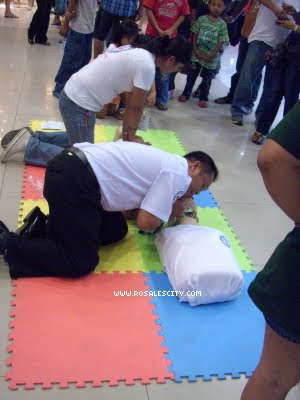 Cardiopulmonary resuscitation CPR Demo