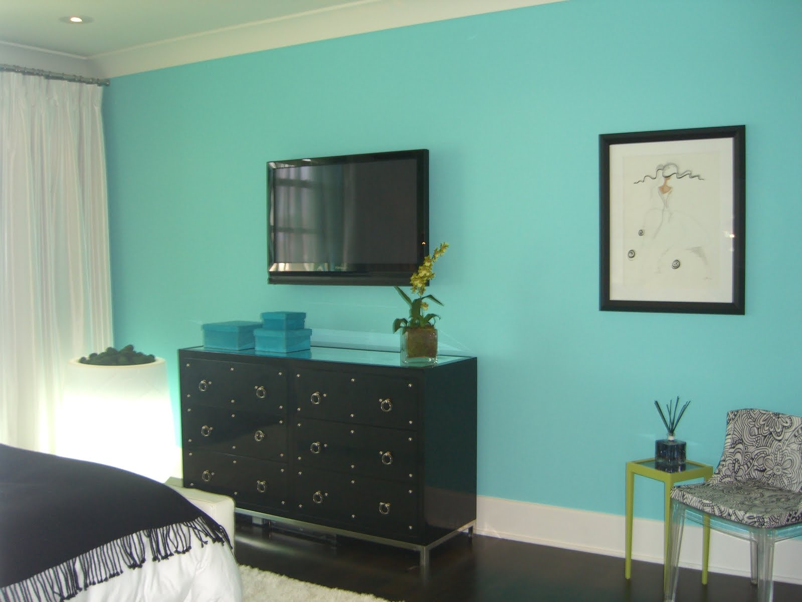 Turquoise Living Room Mm Interior Design Turquoise Color Of The Year
