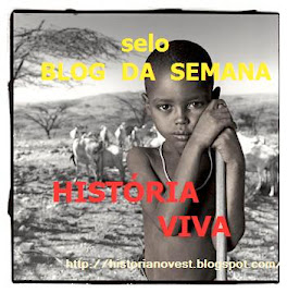 Selo blog da semana - Histria Viva