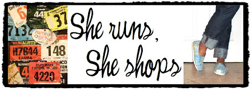 She Runs, She Shops