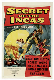 "EN 1955 PATICIPO EN : ""SECRET OF THE INCAS "" JUNTO A CHARLTON HESTON"