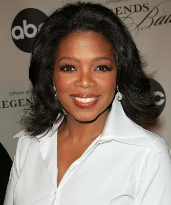 tv host Oprah Winfrey