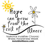 Featured Writer For Invisible Chronic Illness Awareness Week 2009