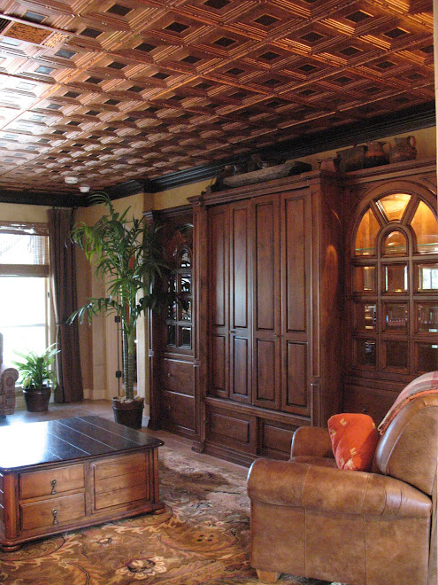 Lucious copper ceiling
