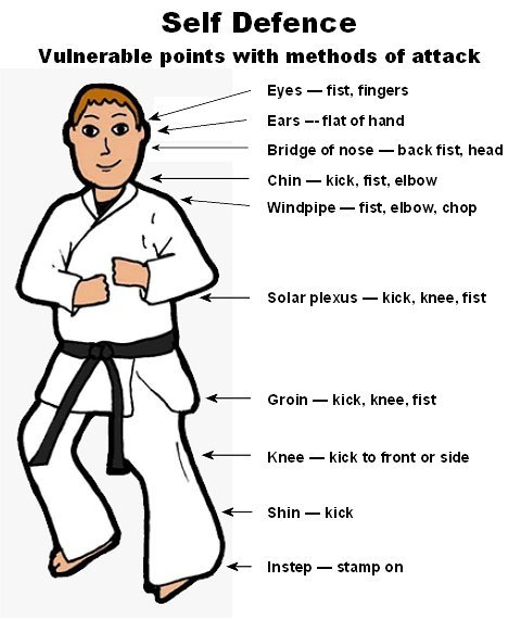 1 selfdefense BASIC SELF DEFENSE TECHNIQUES