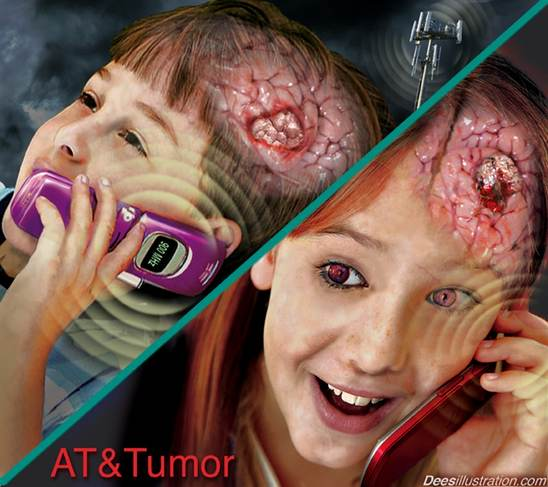 Activist Post: Study: 290% Increased Risk of Brain Tumor After 10 ...