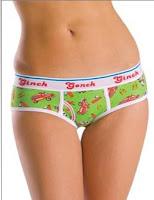 RIM JOBBER GO GO BRIEF Size M WOMEN/'S GINCH GONCH