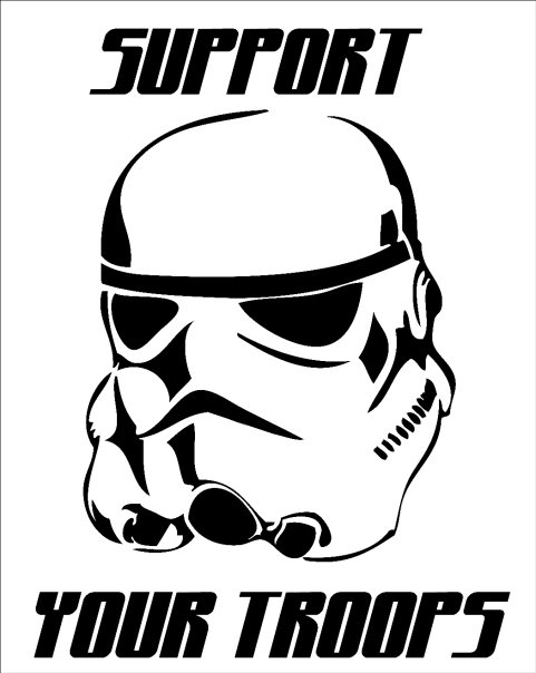 Mesmerizing image for stormtrooper stencil printable