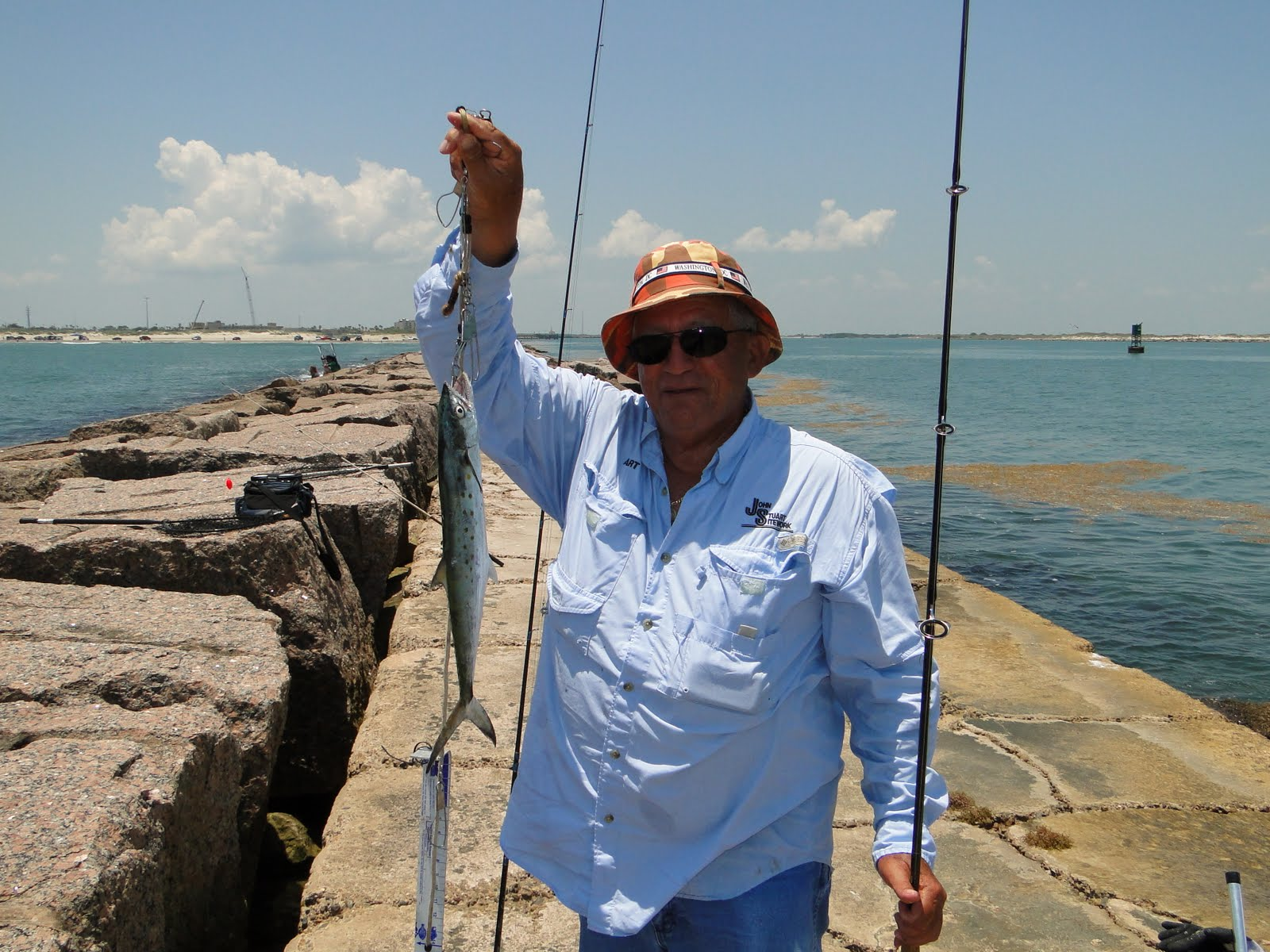 Port a and packery jetty 39 s for Fishing report port aransas