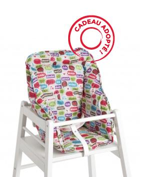 emilie michael 39 s baby wishlist wish 22 coussin chaise haute comics natalys. Black Bedroom Furniture Sets. Home Design Ideas