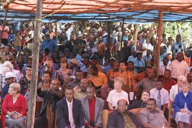 Acara Syukuran Alkitab  Bahasa Kimyal ( Korupun ) 16 Maret  2010
