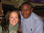 Pastor Dickson and Sherry