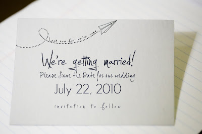 westside wedding free paper airplane save the date from ruffled blog