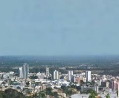 Vista parcial de Vitória da Conquista - Bahia