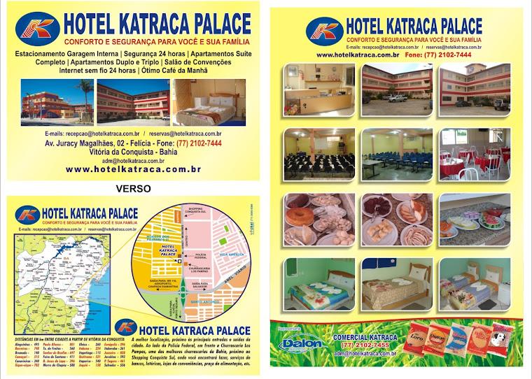 Hotel Katraca Palace - Lugar Ideal para Hospedagens, Cursos e encontros.