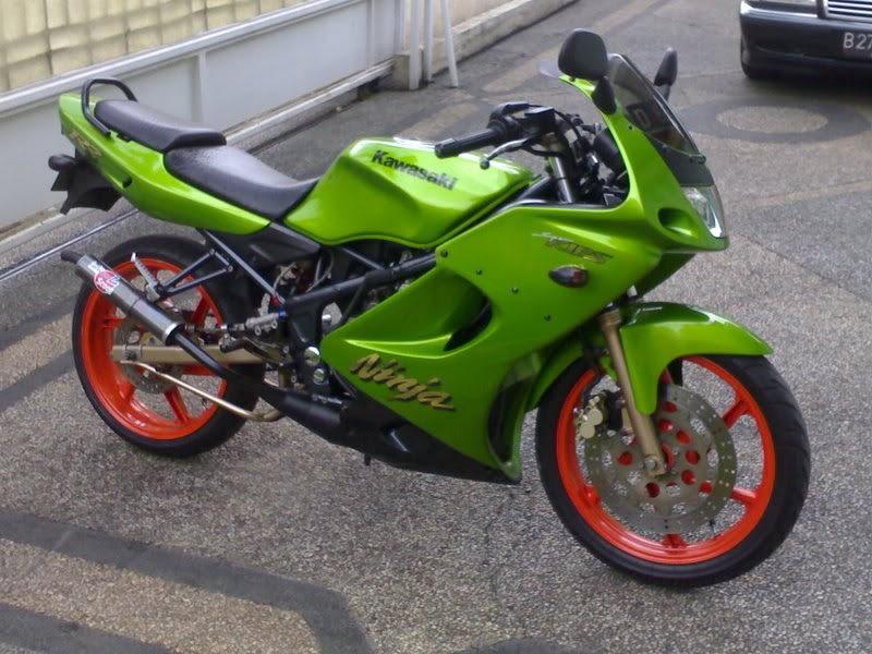 Kawasaki Ninja  Contoh2 Modifikasi Ninja 150 Rr