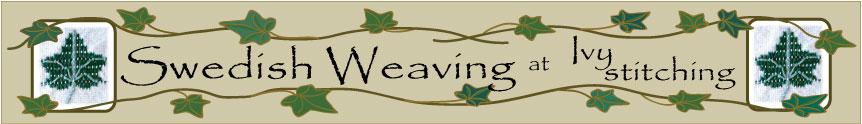 Ivy stitching