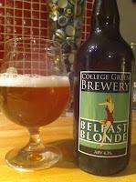 2 öl från Belfast / Nordirland - Friday, bloody friday eller något