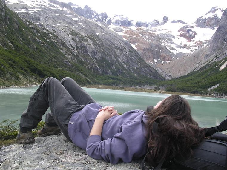 A la laguna Esmeralda à Ushuaïa