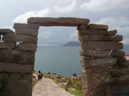 Ile Taquile sur le Lac Titicaca