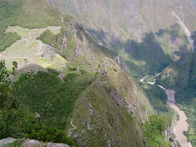 Vue du Huayna Picchu