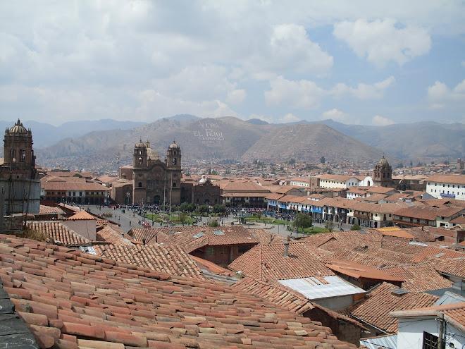La Plaza de Armas à Cusco