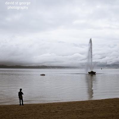 Oriental Bay Fountain David St George Photography