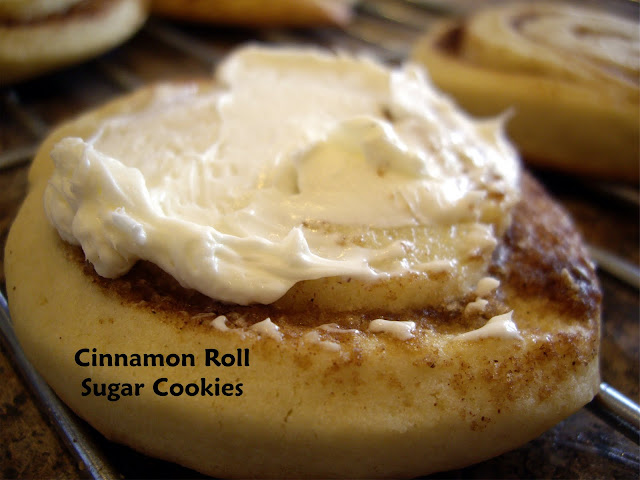 Simply YUM!: Cinnamon Roll Sugar cookies