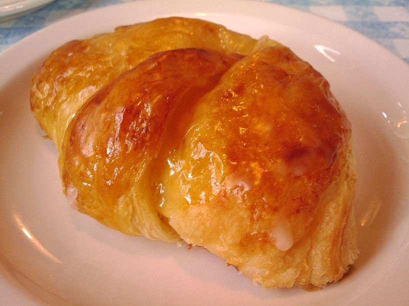 glazed cheese croissants today i made glazed cheese regular glazed ...