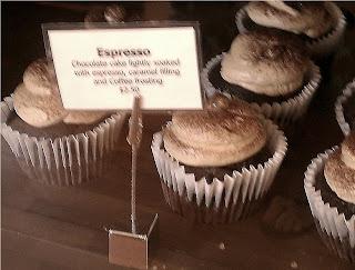 Espresso Cupcake