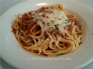 Linguine alla Bolognese