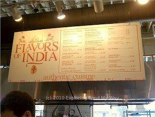 Flavors of India's Menu