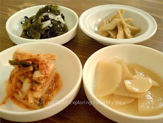 Second Set of Banchan