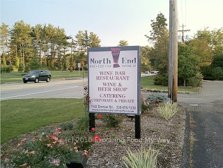 North End Restaurant's Roadside Sign