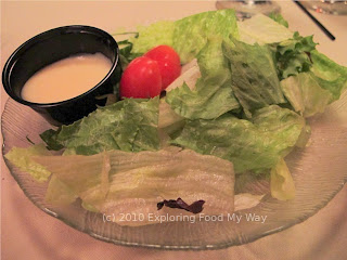 House Salad with Homemade White French Dressing