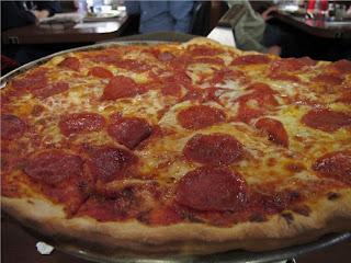 NY Style Pepperoni Pizza