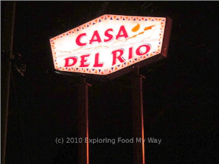 Roadside Sign for Casa del Rio