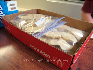 Bagged and Labeled Pierogi