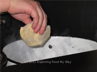 Dropping Pierogi into Boiling Water