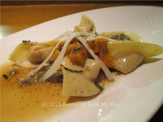 Squash Tortellini in Brown Butter