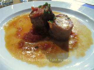 Monkfish with Stewed Tomatoes