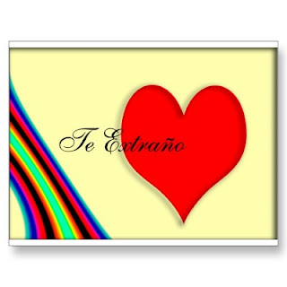 valentine spanish language card