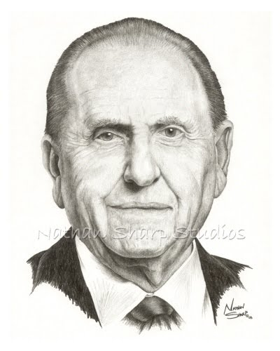 The goates notes doctrinal questions from the youth cont for President monson coloring page