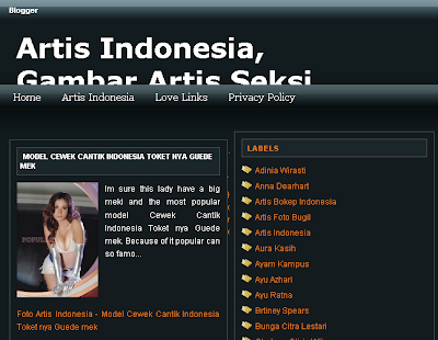 The Artis Indonesia Blog Change a theme