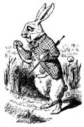 El Conejo Blanco de John Tenniel