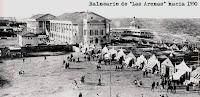 Balneario de Las Arenas hacia 1930