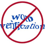 This is a word verification free zone!