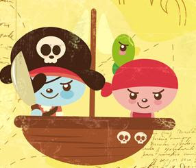 de las canciones de los piratas: