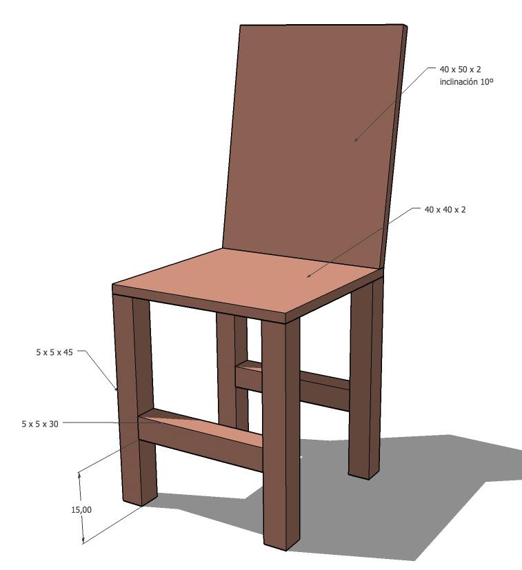 Imagen de una silla imagui - Una silla para ...