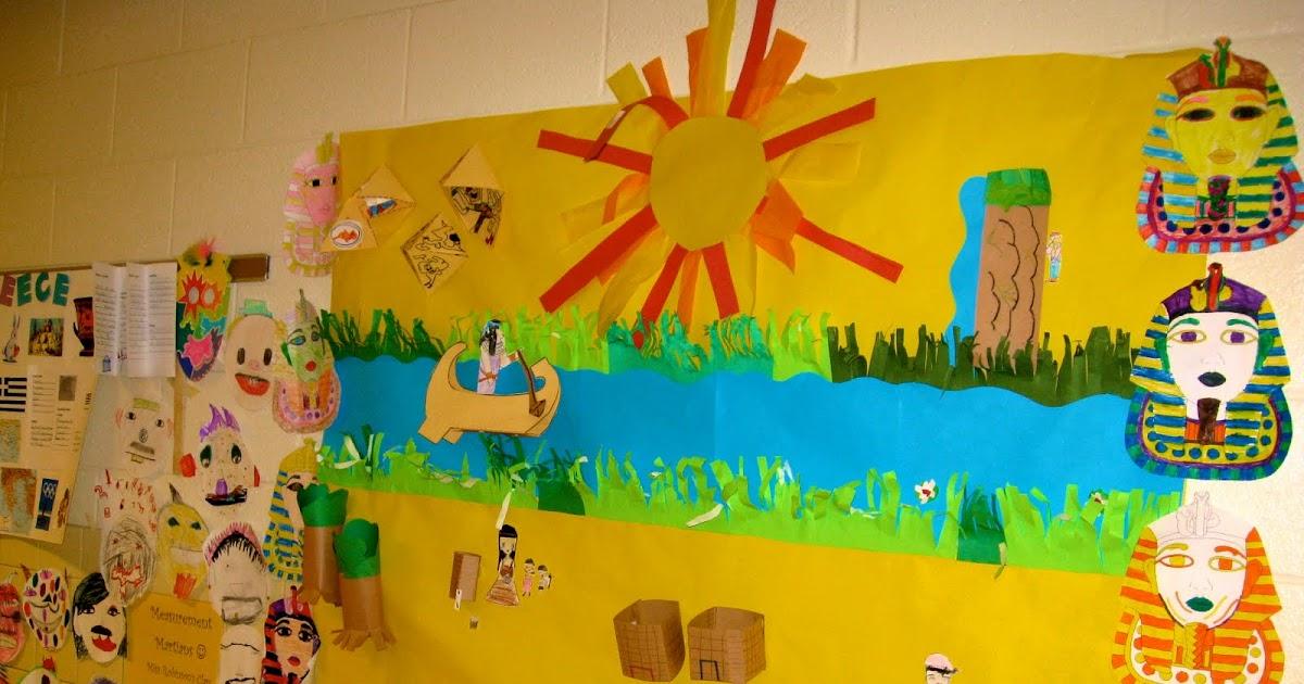 The creative classroom ancient civilization murals for Classroom mural